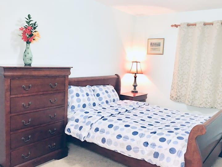 The private bedroom in Summerside PEI
