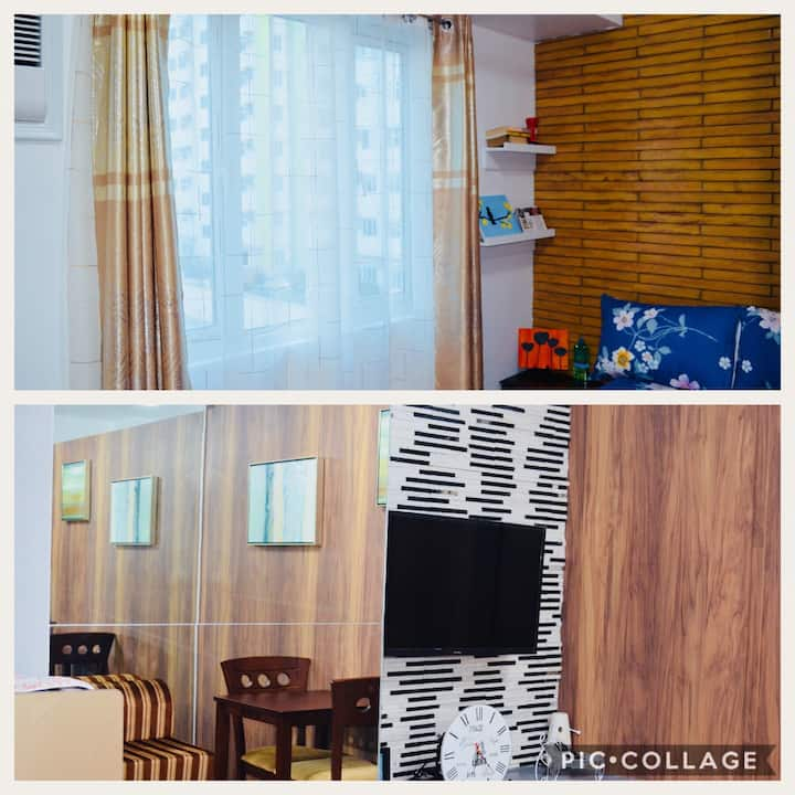 Jaydee's Cozy Unit in MPlace Panay Ave Quezon City
