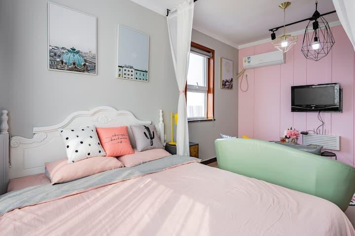 【INS 元气少女】一居室,紧邻北国先天下,万博等繁华地段。