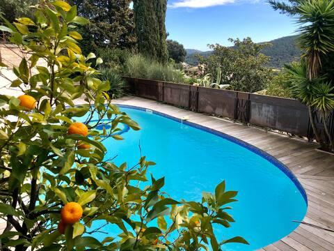 villa T4 - piscine privée- vue magnifique