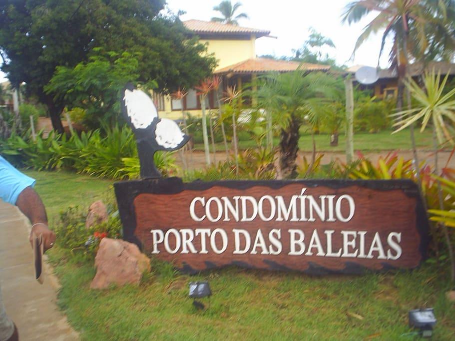 Entrada do Condomínio - Porto das Baleias