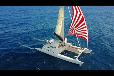 Yacht Glamping in Oahu