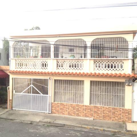 Habitación privada ideal para viajeros en Rep. Dom