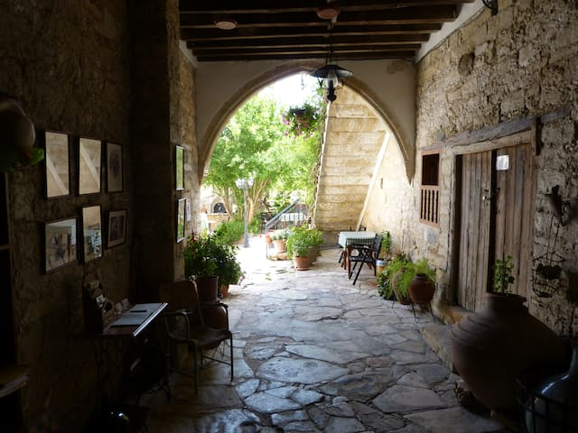 NICOLAS AND MARIAS COTTAGES. traditional Cyprus