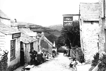 Originally the Boscastle Inn now cottage to let - Boscastle