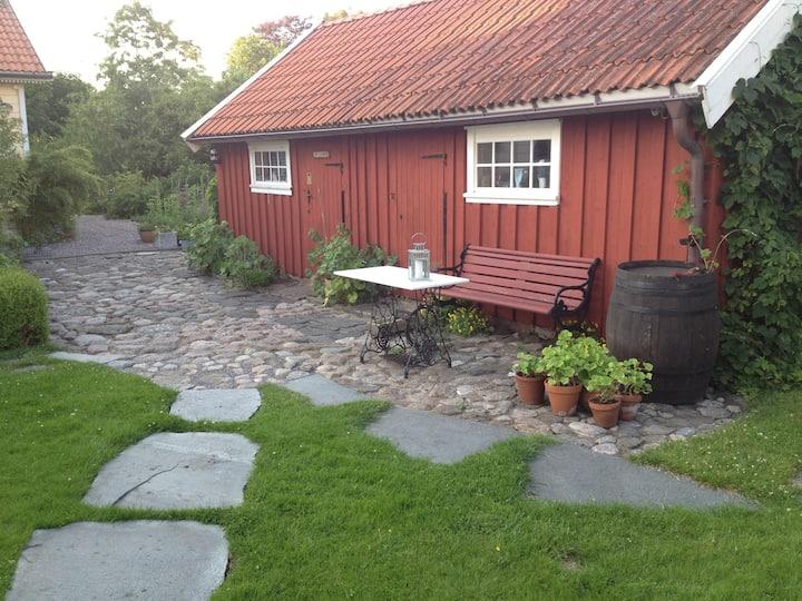 Mysigt rum med Spa avdelning  i Onsala.