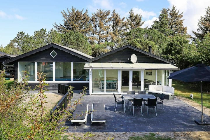 Luxurious Holiday Home in Vejers Strand with Indoor Pool