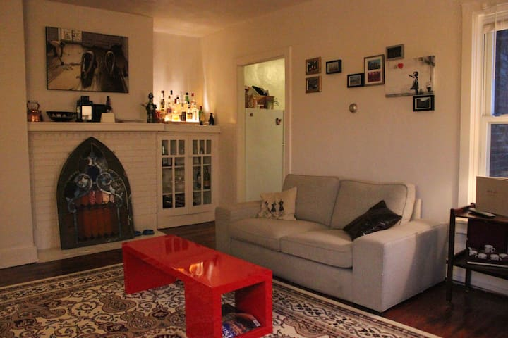 Sunny room - heart of Squirrel Hill - Pittsburgh - Apartamento