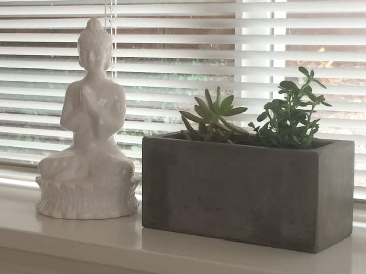 Zen retreat close to everything