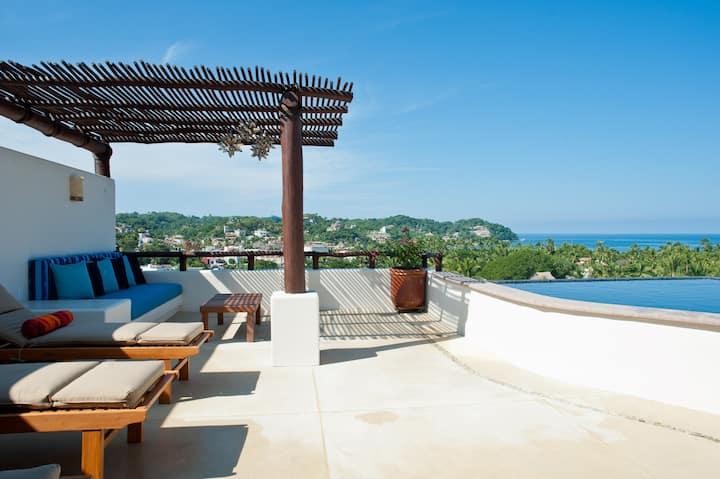 Amazing Oceanview Sayulita Getaway