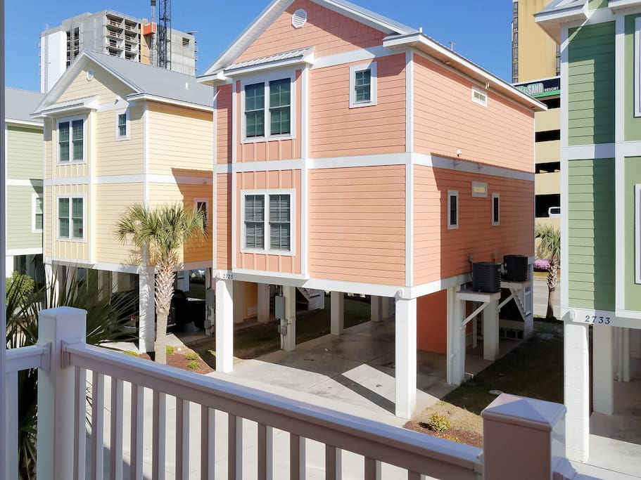 Your Myrtle Beach rental is tucked in a central location near family fun.