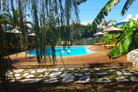 Βeautiful double rooms with pool in Parikia, Paros - Paros - Bed & Breakfast