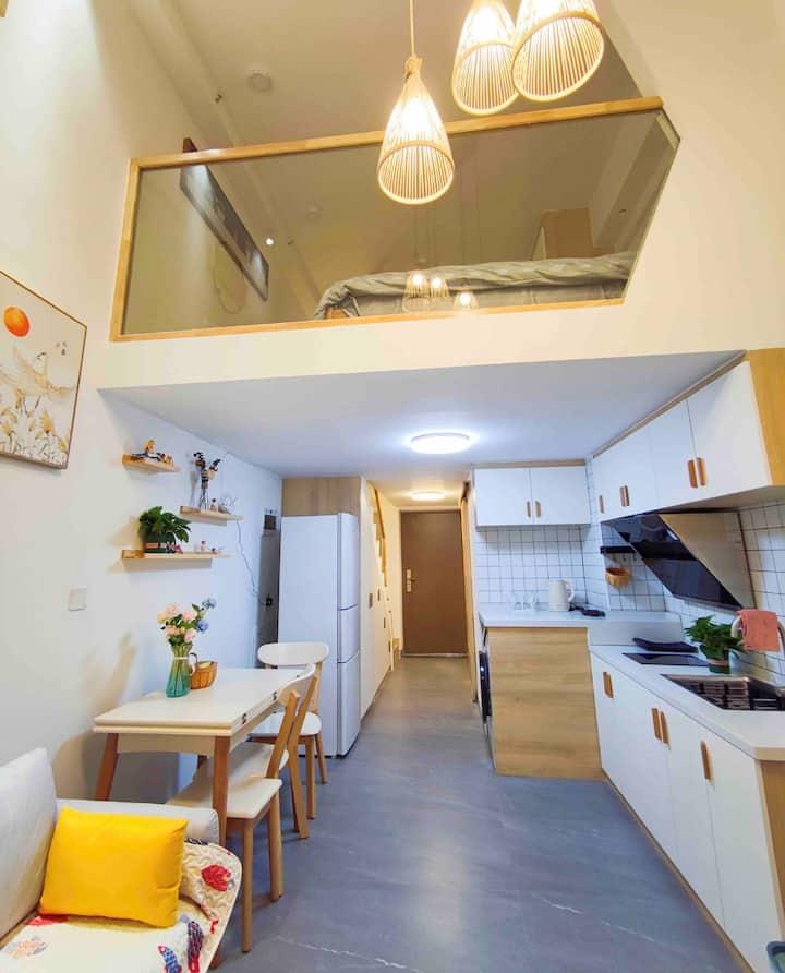 圈酱小居-世界之窗、海底世界、湖南广电正对面的温馨小公寓