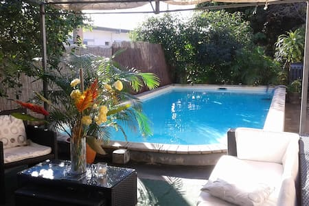 1 bedroom - Home with swimming pool - 5mn downtown - Nouméa