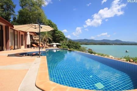 Sea Front Villa, Large Pool - Koh Phangan - Ko Pha-ngan