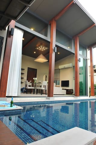 Private pool villa 10 mins to beach - Phuket, Thailand - Casa de campo
