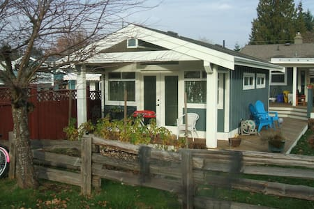 Sweetest Little Cottage in P'ville! - Parksville - Cabin