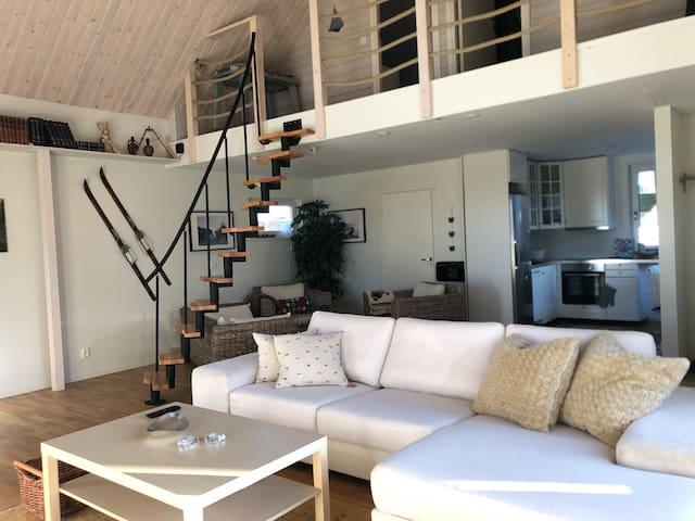 Villa Olympia.Nybyggt hus i centrala Höganäs 130m2