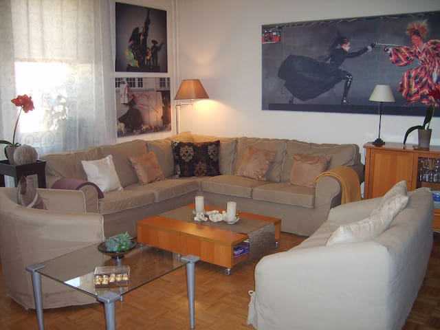 65m2 appt in a beautiful residence - Warszawa - Lägenhet