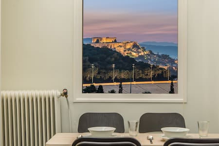 Acropolis view amazing apartment for5@kalimarmaro