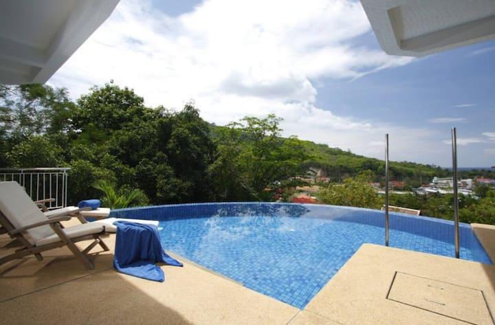 Kamala 3 Bedroom Pool Sea View Villa