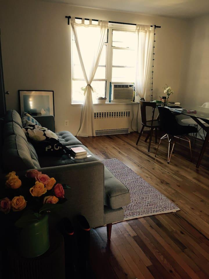 Sunny Dining/Living Room