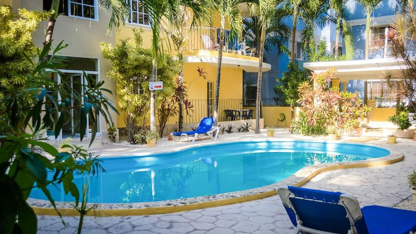 Bavaro Studio, with Pool and BBQ access!