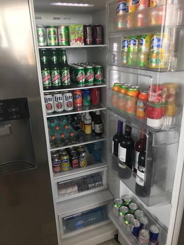 Ponemos a su disposición una dispensa bien surtida de bebidas!