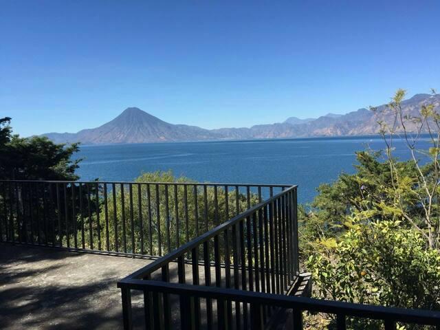 Vista desde el bungalow 2