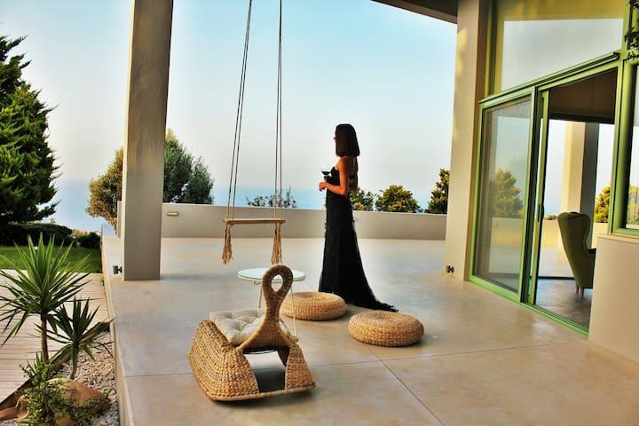 Wonderful Sea view Villa - Ligaria - 別荘