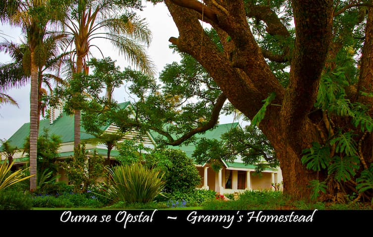 Ouma se Opstal/Granny's Homestead - Winterton - Pension
