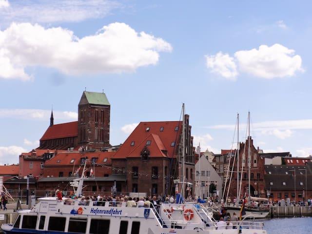 Ferienwohnung am Alten Hafen drei - Wismar - House
