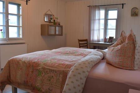 Zimmer Röösi in schönem alten Schweizer Bauernhaus