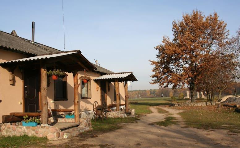 "Лесная усадьба под Брестом: комната ""Тундра"" - Zaluzzie - House"