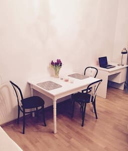 Mini studio in the heart of Warsaw - Warszawa - Apartemen
