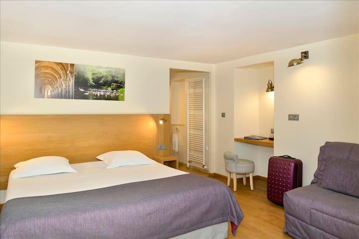 Chambre avec terrasse en Bourgogne