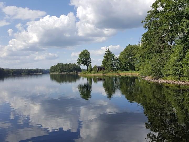 VIKAGÅRDEN Amazing nature at seaside Immeln lake 1