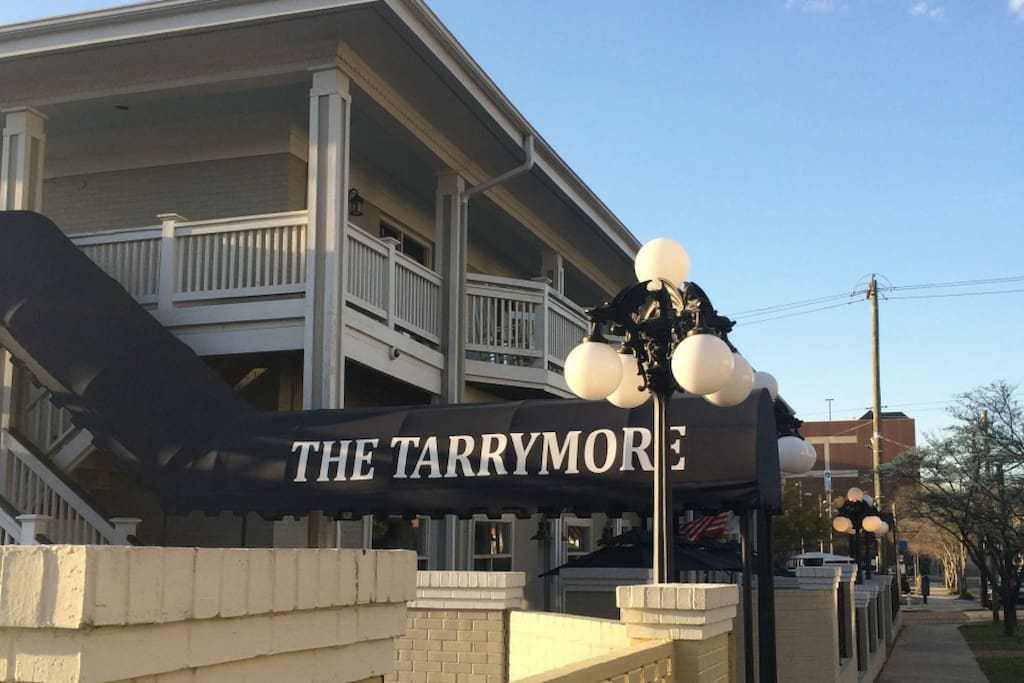 The Tarrymore is the Best kept secret in Historic Downtown Wilmington