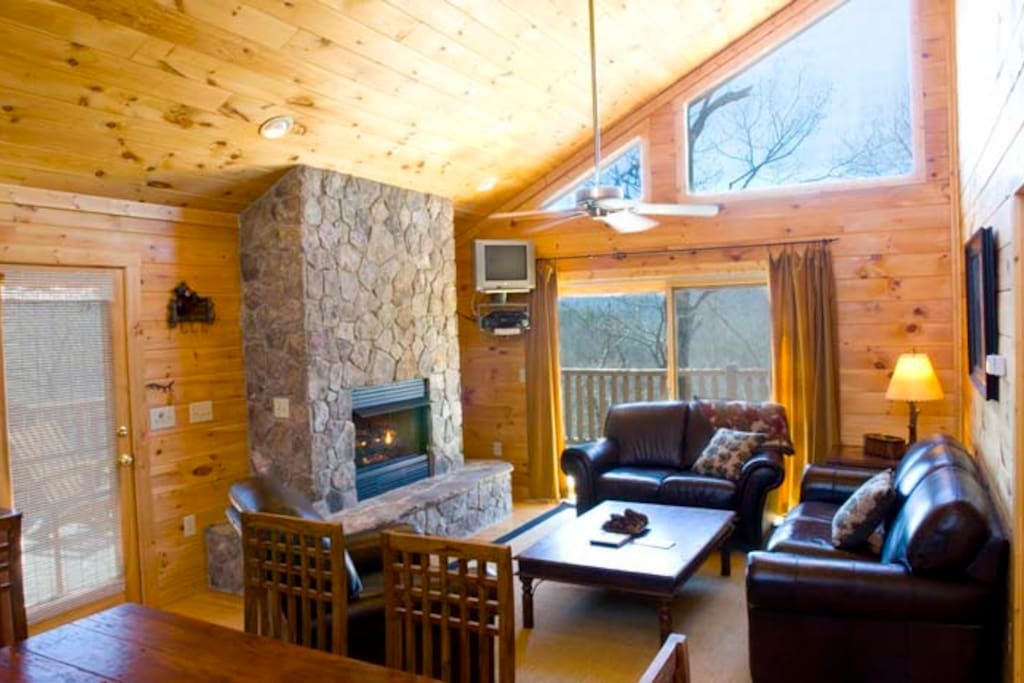 Watershed 09 Cabins For Rent In Bryson City North
