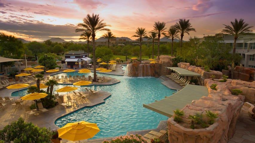 Scottsdale Resort - Marriott Canyon Villas 1B1B