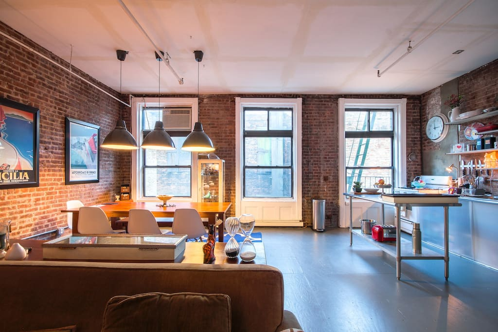 AUTHENTIC TRIBECA LOFT NEAR SOHO Flats For Rent In New York New York Unit