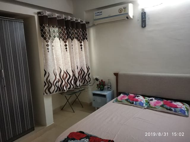 Private one bhk apartment near kharghar hills