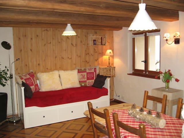 Vionnaz Chalet ski-lac à 15 mn - Vionnaz - Casa nella roccia