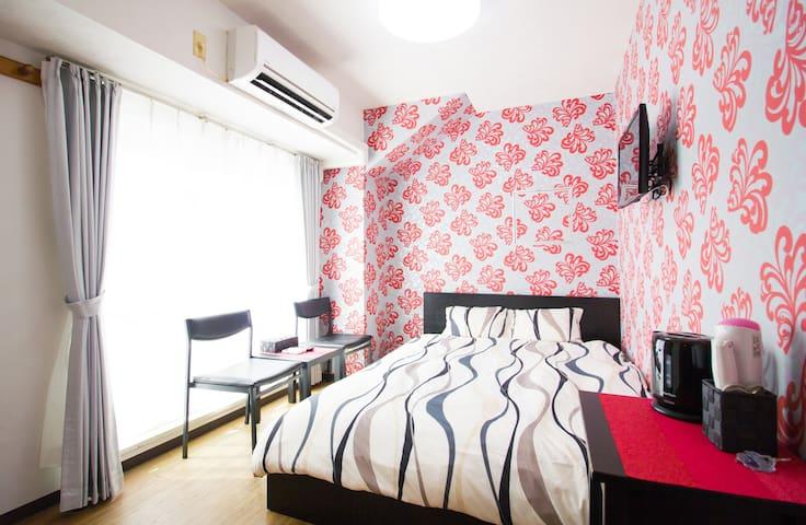 SKR301 Cozy Room ~Cute Red Room~