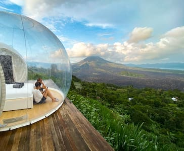 🌱 Eco Luxury Bubble Hotel + Private Dining