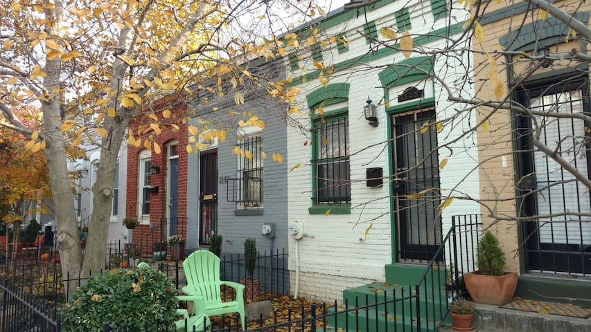 Adorable row house in Capitol Hill - Washington - Byhus