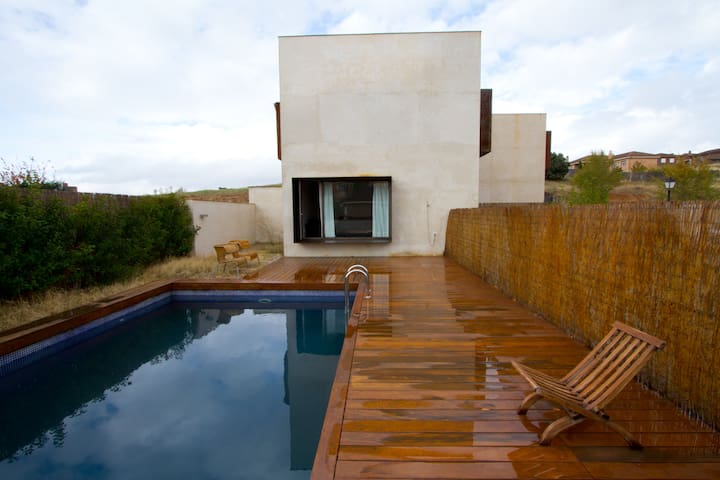 Spectacular Chalet Refuge Pool - El Casar