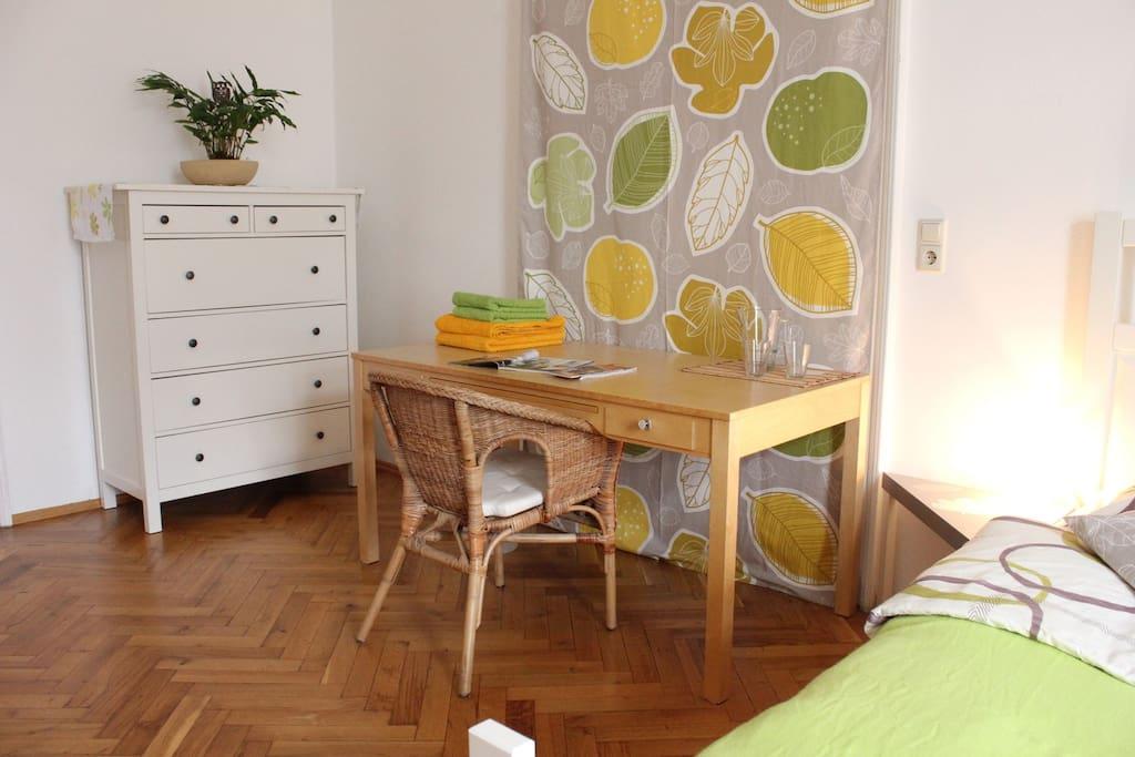 Stilvolles Doppelzimmer