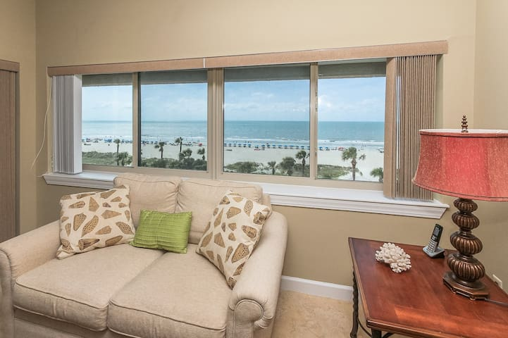 Direct Ocean Views from 453 Captains Walk