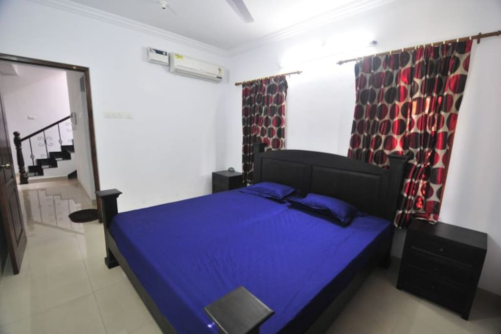 Bedrooms with king size beds